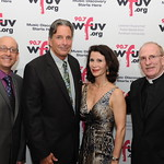 Thu, 08/05/2014 - 6:02pm - WFUV General Manager Chuck Singleton, Peter Madonia, Katherine Oliver and Fordham University President Joseph M. McShane, S.J. At Gotham Hall in NYC, May 8, 2014. Photo by Chris Taggart