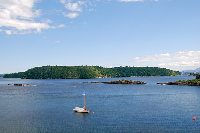 Newcastle Island Marine Provincial Park, Nanaimo, Vancouver Island, British Columbia, Canada