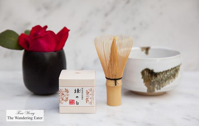 Beginner's Matcha Gift Set - Tea and Bamboo whisk