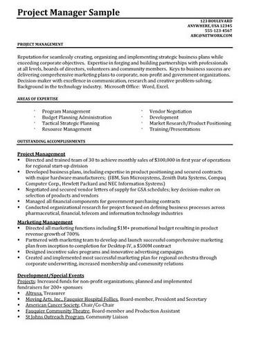 Junior Project Manager Resume Getresumetemplate Info 3822 Flickr