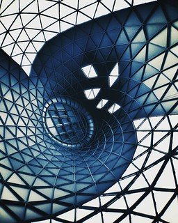 Vortex   #modern #building #Architecture #archilovers #minimalism #minimalmood #minimal #igers #igersitalia #geometric #abstract #abstraction #instagood #picoftheday #photooftheday #Photography #bestoftheday #likes4follow #beautiful #blue #spider #glass | by Mario De Carli