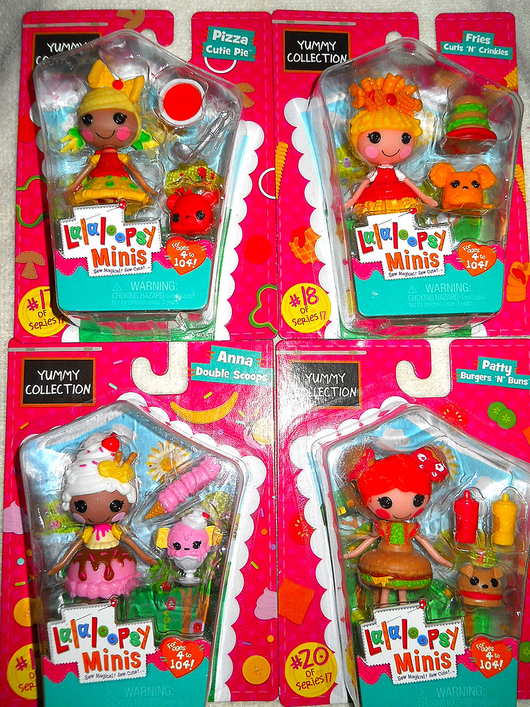 Newest Mini Lalaloopsy Dolls! | teekeek | Flickr on