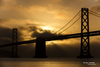 Sun Rays - Bay Bridge | by davidyuweb