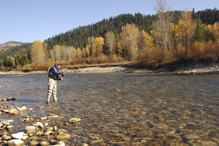 Fly fishing - Boise River | Fly fishing on the North Fork of