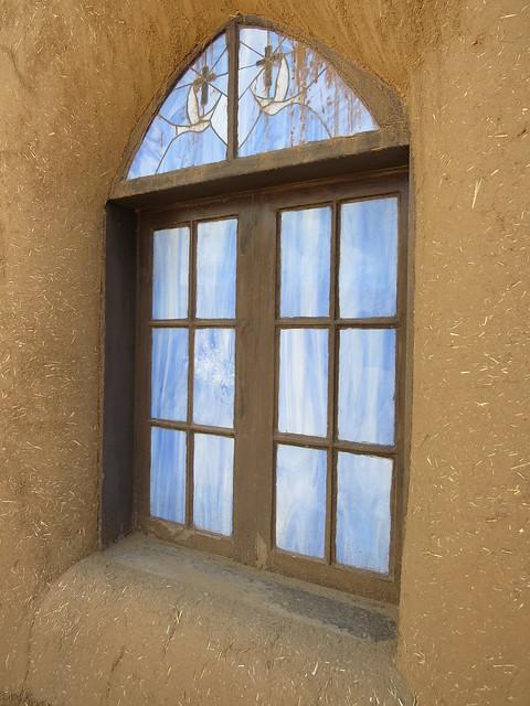 San Geronimo Church Window
