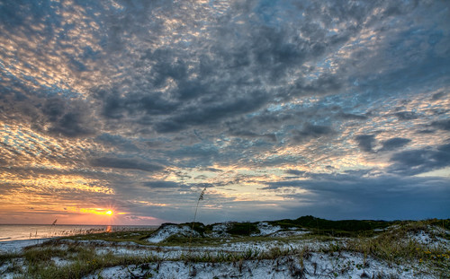 world park camping sunset sea vacation sun seascape color beach nature water beauty clouds photoshop canon sand october raw day gulf florida cloudy wideangle tiff hdr topaz photoshopelements floridastatepark hss photomatix emeraldcoast canonefs1755mmf28usm garyoliver southwaltoncounty hwy30a rebelxsi canonxsi topazadjust grandalloliver grandalloliverphoto beachesofsouthwaltoncounty topsailhillstateparkflorida