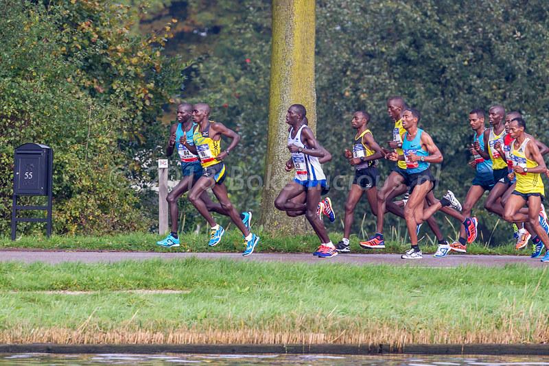 TCS Amsterdam Marathon | kopgroep lang de Amstel