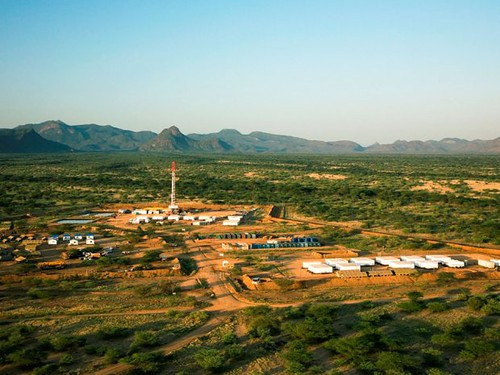 A Canadian-based Africa Oil Corp. rig in the East African state of Kenya. New oil findings abound in the region.   by Pan-African News Wire File Photos