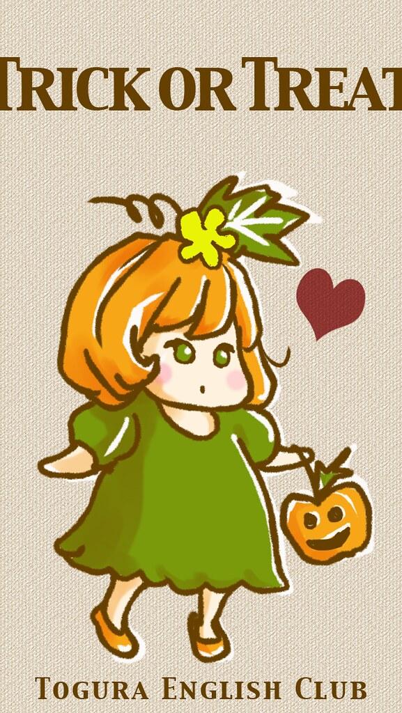 Togura English Club Character Halloween Wallpaper For Mobi Flickr