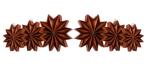 Pleat Stars - Copper | by all things paper