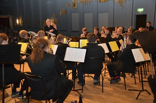 Lilla Brassbandfestivalen 2013 - Berit Palmquist leder SYBB