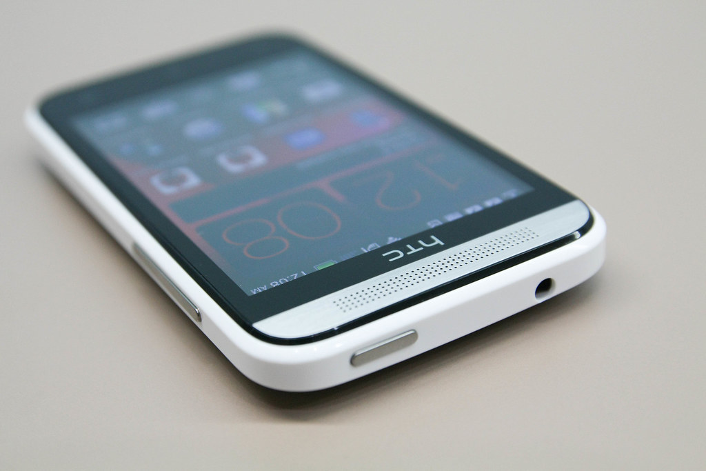 HTC Desire 200 power button and audio jack | Read review at … | Flickr