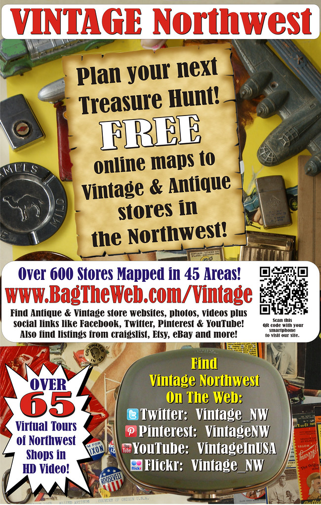 Vintage Northwest - Listing of 600+ Vintage & Antique Stores