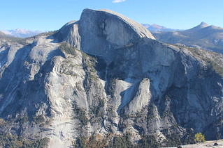 Half Dome from North Dome | by LanyonM