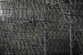 """Forever Bicycles"" by Ai Weiwei 