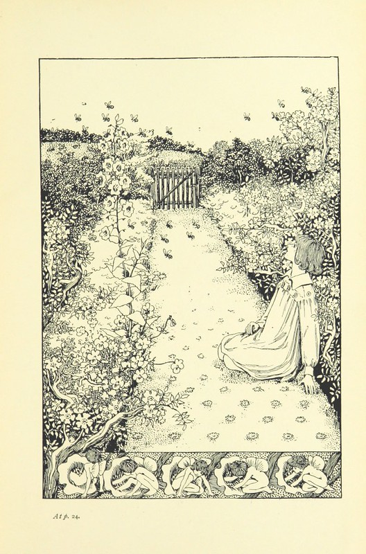 Image taken from page 47 of 'Songs for Little People. [With illustrations by H. Stratton.]'