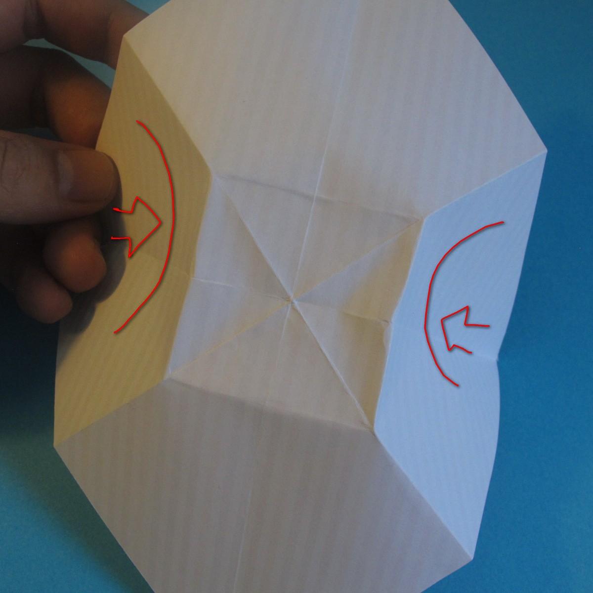 วิธีการพับกระดาษเป็นโบว์หูกระต่าย 007