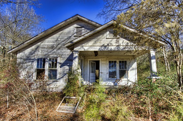 Abandoned House on Hwy 278