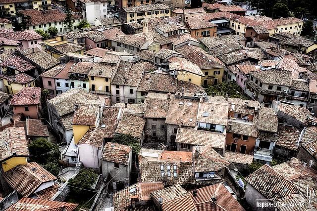 Malcesine: Sea of Houses