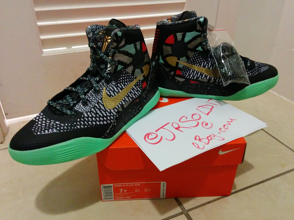 save off c0525 0aaa0 ... KOBE 9 ELITE DEVOTION ALL STAR NOLA GUMBO LEAGUE COLLECTION - GS Size 7    by