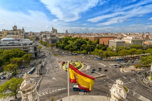 Cibeles desde el Ayuntamiento (Madrid)   by Miguel Díaz (Mad-King)