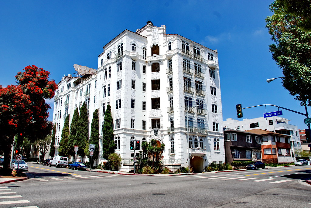El Mirador Apartments S Charles Lee 1929 Classic Hollywo Flickr