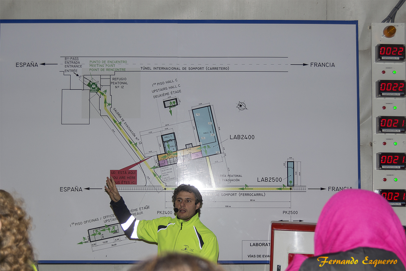 Laboratorio subterraneo de Canfranc