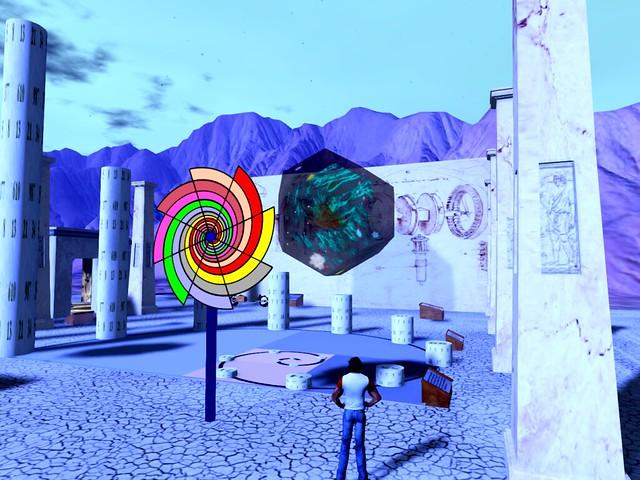 Burn2 2016 - Da Vinci's Workshop - Dodecahedronal View