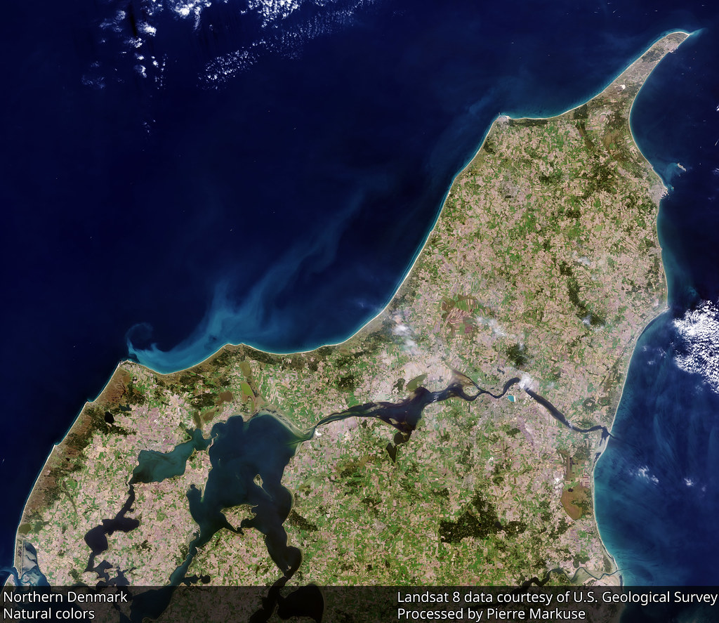 Earth from Space: Northern Denmark