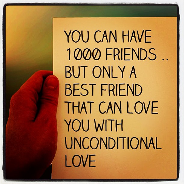Unconditional Friendship Instapad Instagram Love Frien Flickr