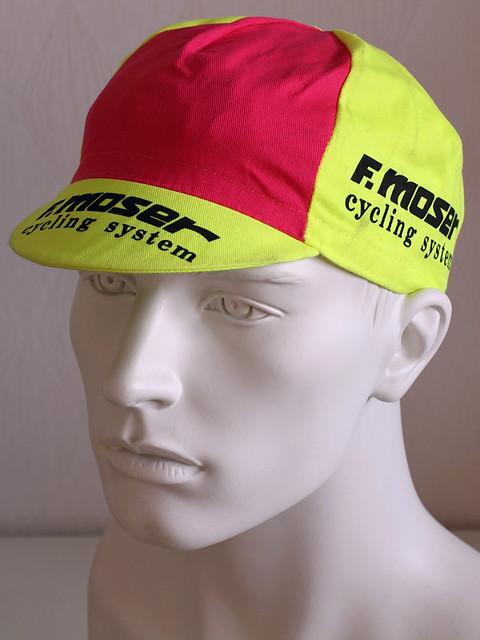 F Moser Cycling Cap