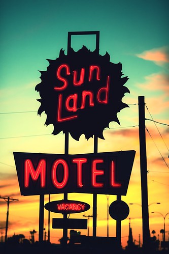 sunset arizona usa neon unitedstates fav50 unitedstatesofamerica motel mesa fav10 fav25 sunlandmotel