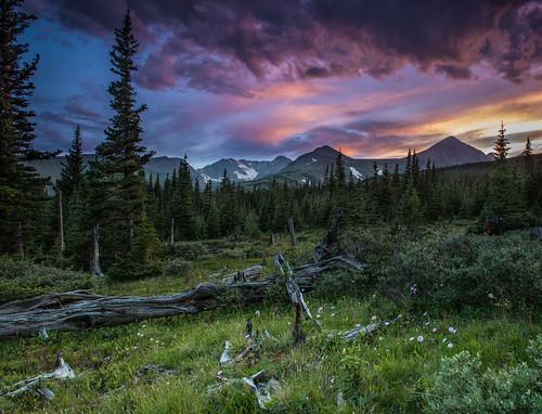 sunset storm colorado indianpeaks navajopeak niwotridge arapahopeaks mountainresearchstation southernrockymountains kiowapeak