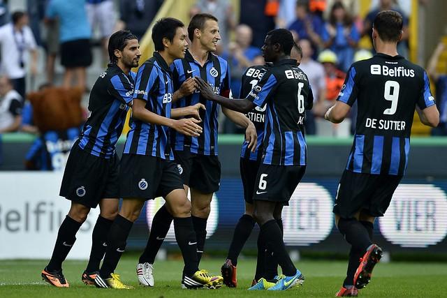 Club Brugge - Zulte Waregem (11 augustus 2013)