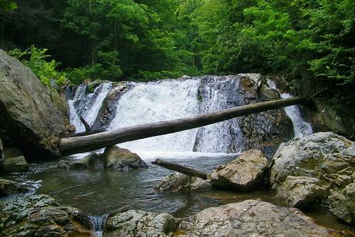 waterfall paint tennessee kelley cherokee