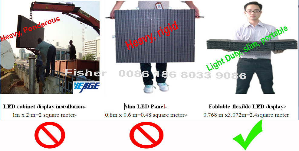 portable led screen panel cabinet compare fisher | LED