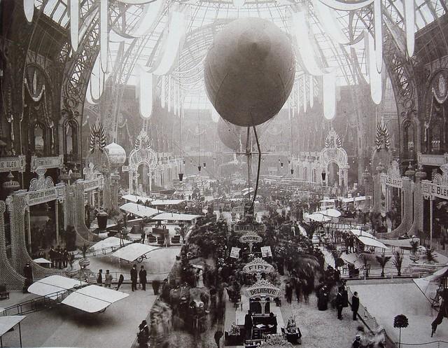 Salon de Locomotion Aerienne, 1909 Grand Palais Paris