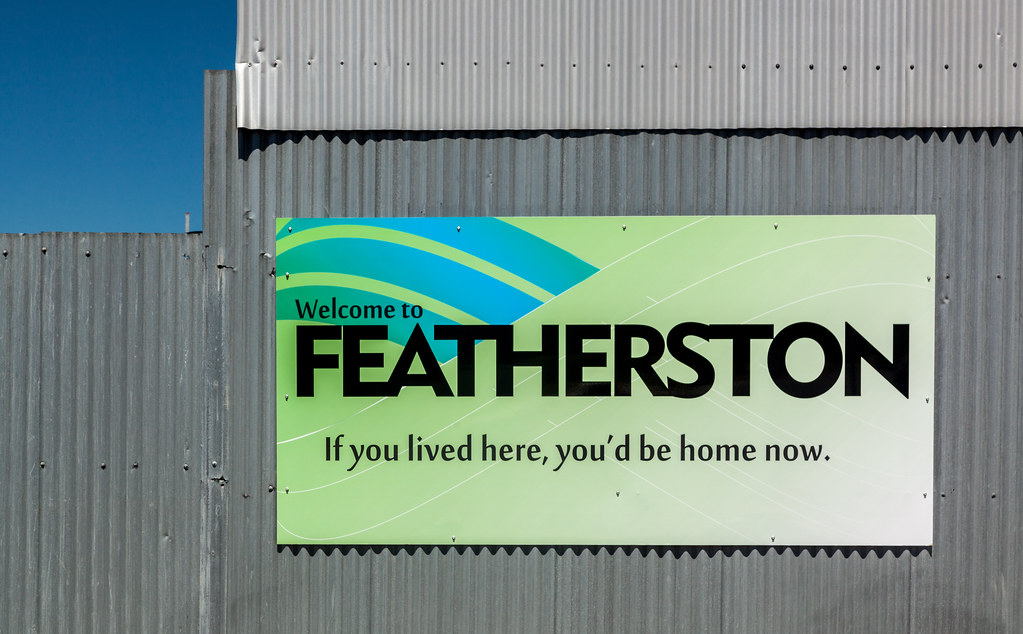 If You Lived Here Youd Be Cool By Now >> Featherston If You Lived Here You D Be Home Now And Flickr