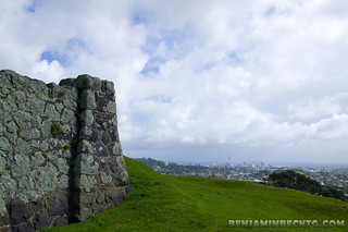 View of Auckland City from One Tree Hill | by Benjamin Beck