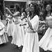 Maracatu Mar Aberto Kensington Market Pedestrian Sunday Brazilian Dance Drum Singing