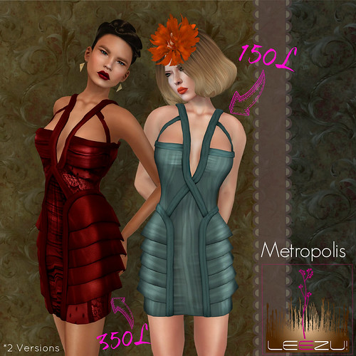 [Leezu!] Metropolis (2 Versions) | by Vixie Rayna
