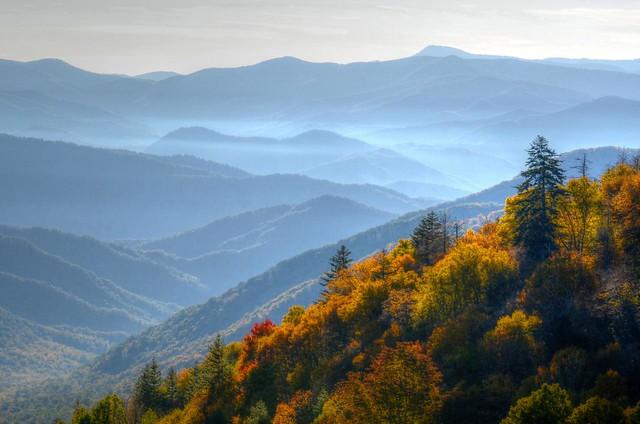 Smokies Landscape, Great Smoky Mountains National Park