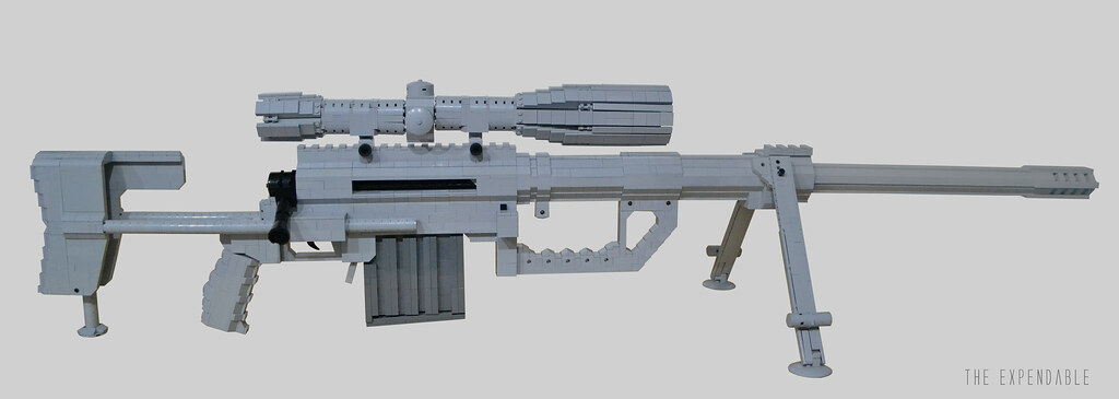 CheyTac M200 Intervention | There's only a handful of LEGO I