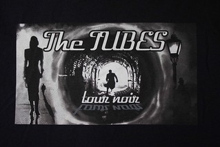 The Tubes Tour Noir Shirt front | by The Tubes