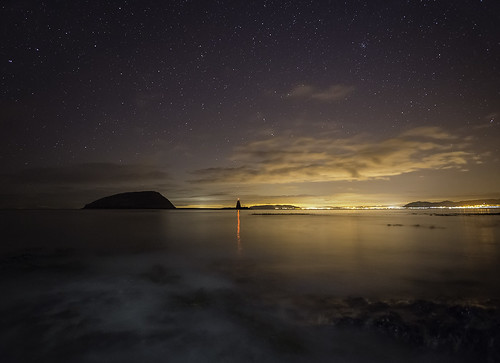 'Night-Swimming' - Black Point, Anglesey | by Kristofer Williams