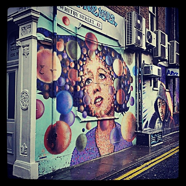 Loving the #streetart in #shoreditch this weekend.... #mylondon