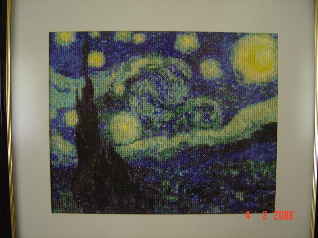 Noite Estrelada Van Gogh Phoenix Dourada Flickr