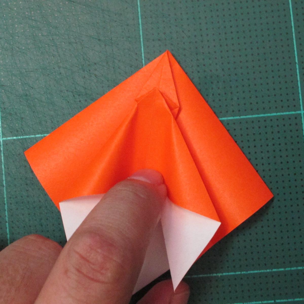 วิธีพับกระดาษเป็นที่คั่นหนังสือรูปผีเสื้อ (Origami Butterfly Bookmark) 022