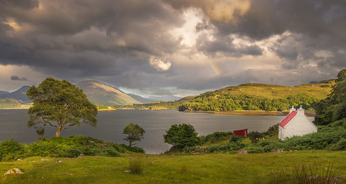 Sheildag Cottage and Rainbow | by Christopher Combe Photography