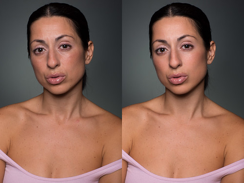 The Wife Before/After   5D3 85L II @ f11 160th ISO 50 Key
